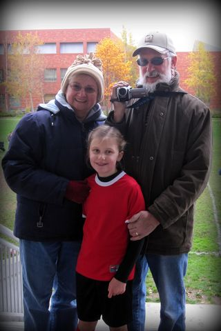 Nana, papa and faith
